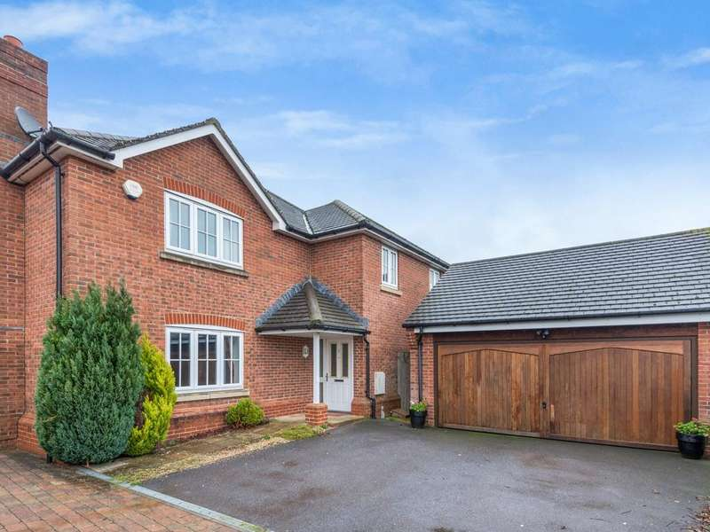 5 Bedrooms Detached House for sale in Monarch Drive, Shinfield, Reading, RG2