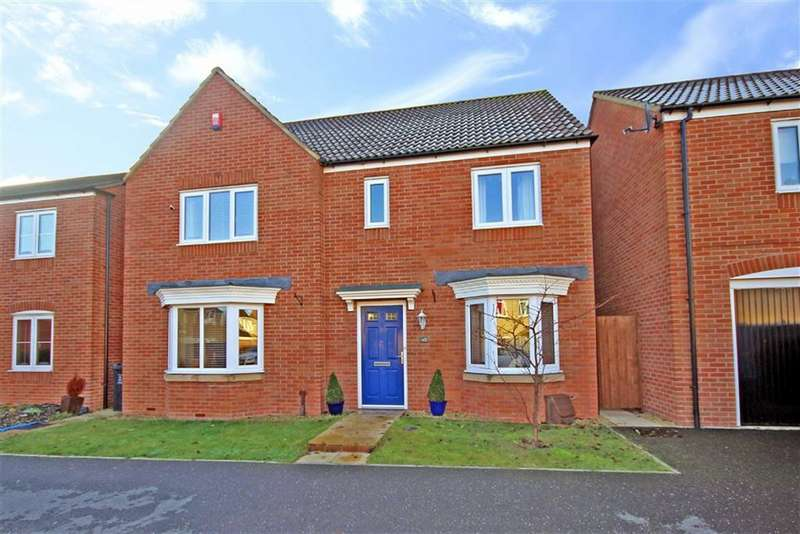 4 Bedrooms Detached House for sale in Sanders Close, Swindon, Wiltshire