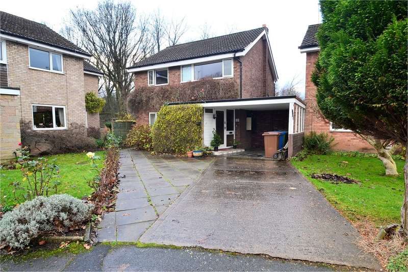 4 Bedrooms Detached House for sale in Lingfield Avenue, Hazel Grove, Stockport SK7 4SL
