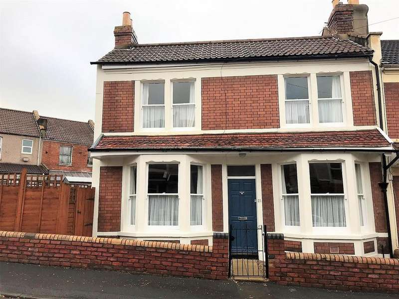 2 Bedrooms End Of Terrace House for sale in Sandbach Road, Brislington