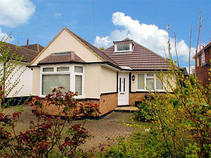 4 Bedrooms Detached Bungalow for sale in Cheviot Road, Luton, LU3