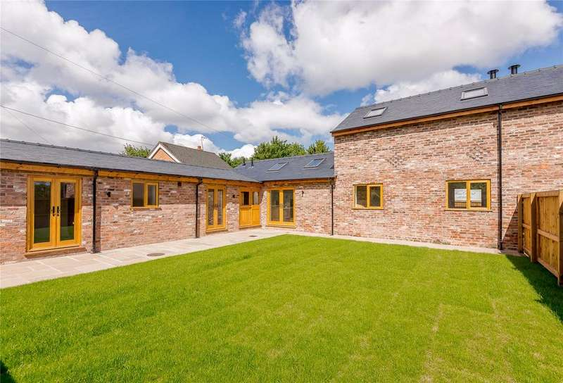 3 Bedrooms Barn Conversion Character Property for sale in Church Farm, Stoak, Nr Chester, Cheshire, CH2
