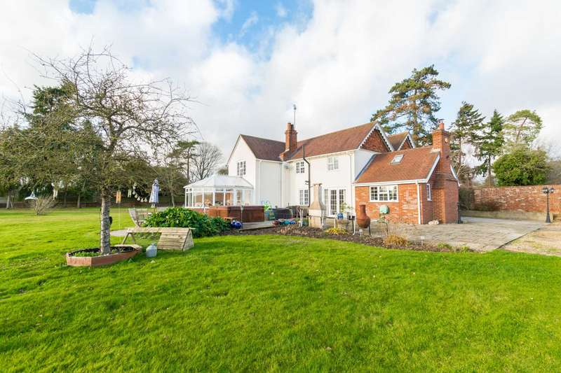 5 Bedrooms Detached House for sale in Bath Road, Newbury