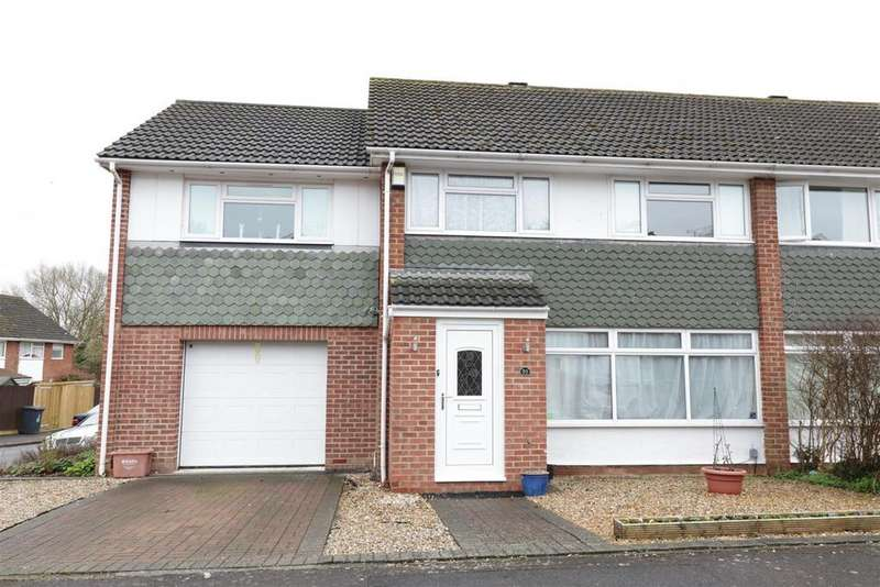 4 Bedrooms Semi Detached House for sale in Shepley Drive, Reading