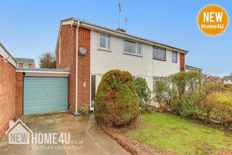 3 Bedrooms Semi Detached House for sale in Swain Avenue, Buckley