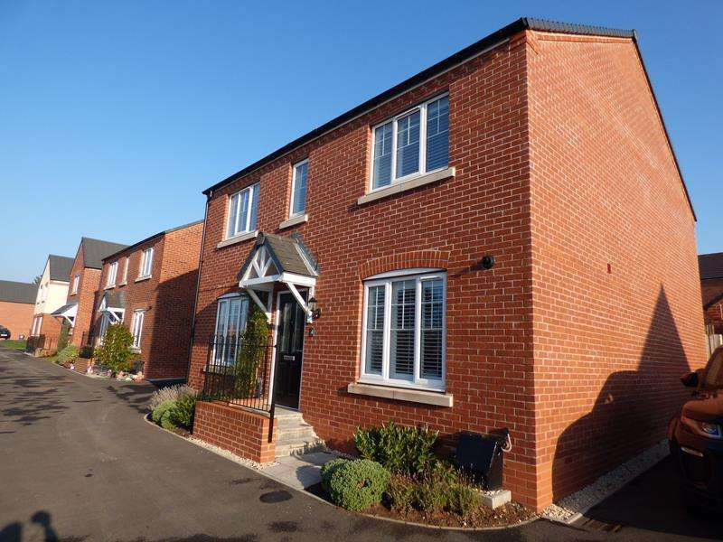 4 Bedrooms Detached House for sale in 4 Furrow Close, Ryall, Upton upon Severn, Worcestershire, WR8 0RT