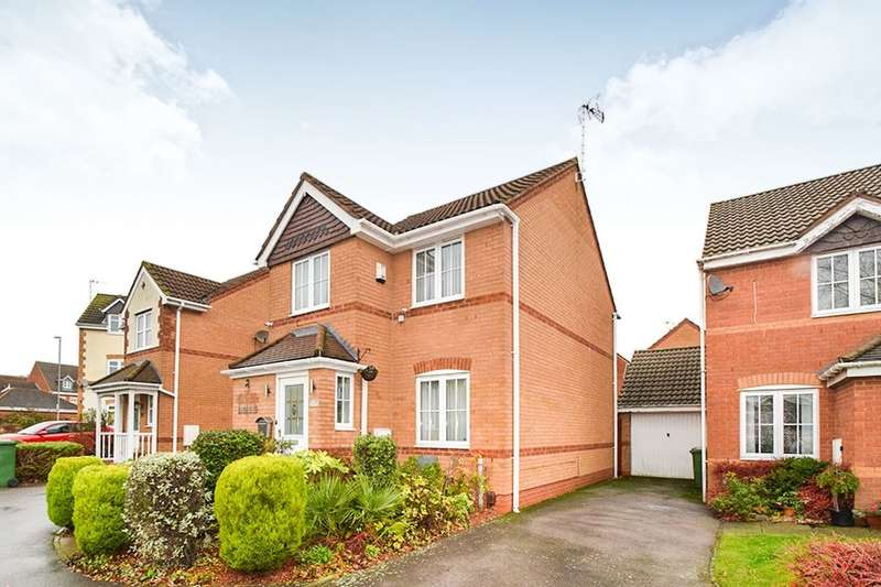 3 Bedrooms Detached House for sale in Darien Way, Thorpe Astley,Braunstone, Leicester, LE3