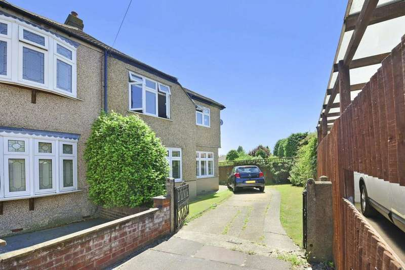 5 Bedrooms Semi Detached House for sale in Corbylands Road, Sidcup, DA15