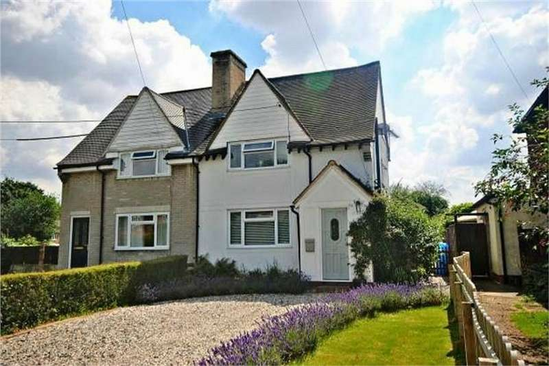 3 Bedrooms Semi Detached House for sale in Colvers, Matching Green, Harlow, Essex