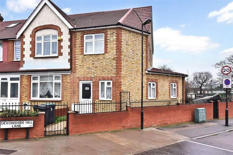 2 Bedrooms End Of Terrace House for sale in Great Cambridge Road, Tottenham, London, N17