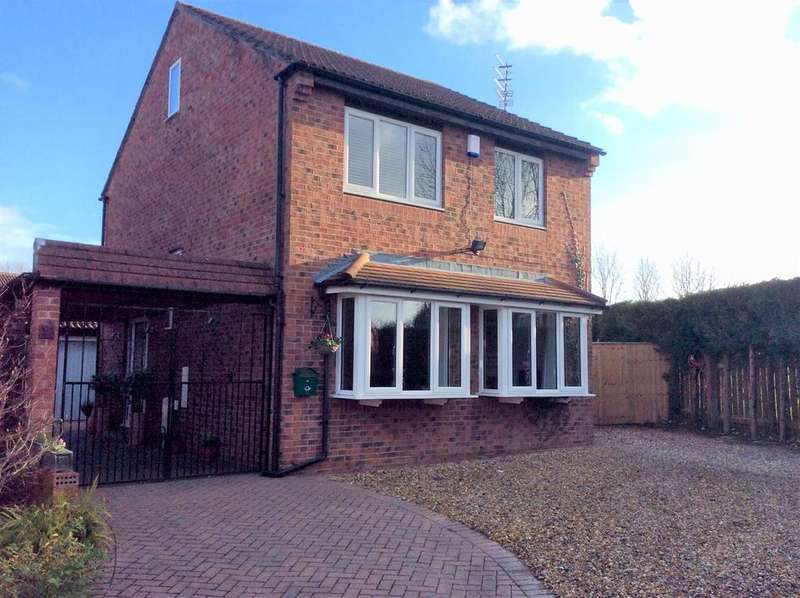 3 Bedrooms Detached House for sale in Cartmel Court, Spennymoor