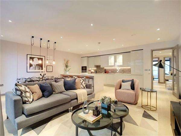 1 Bedroom Flat for sale in Wandle Gardens East, The Ram Quarter, London