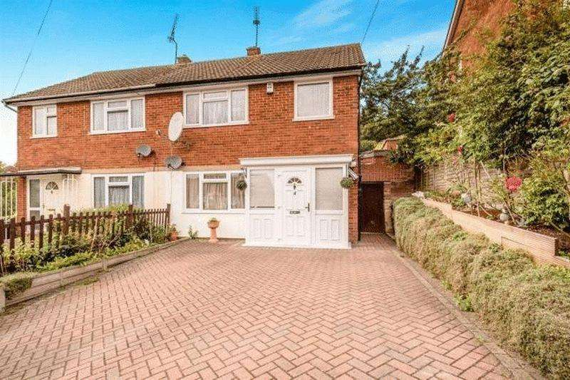 3 Bedrooms Semi Detached House for sale in 3 Bed Semi Backing Fields With Detached Home Office