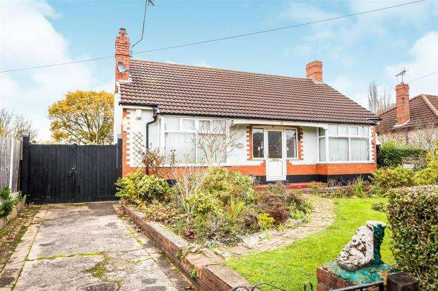 2 Bedrooms Detached Bungalow for sale in Highfield Road, Blacon, Chester