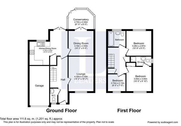 3 Bedrooms Detached House for sale in Brush Drive, Loughborough