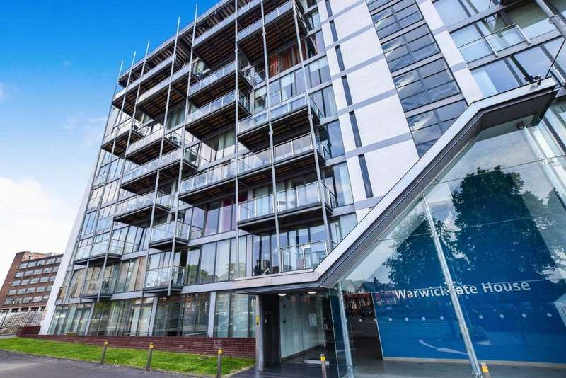2 Bedrooms Apartment Flat for sale in Warwickgate House, Warwick Road, Old Trafford, Manchester, M16