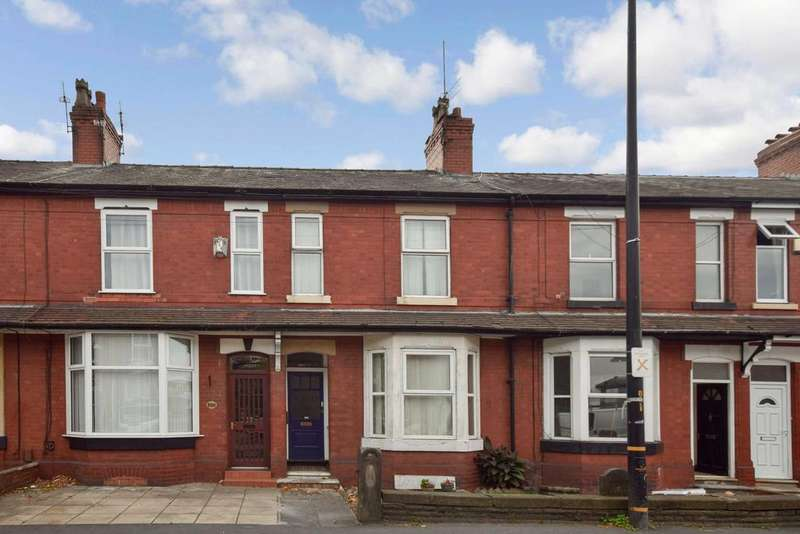 3 Bedrooms Terraced House for sale in Stockport Road, Timperley, Cheshire, WA15