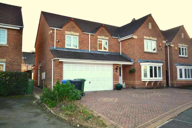 5 Bedrooms Detached House for sale in New Hampshire Close, Great Sankey, Warrington