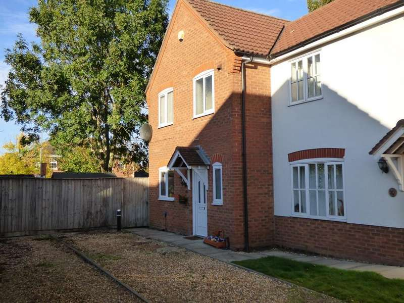 3 Bedrooms Semi Detached House for sale in Saddlers Mead, Spalding