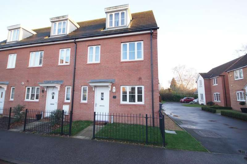3 Bedrooms End Of Terrace House for sale in Pavillion Gardens, Lincoln