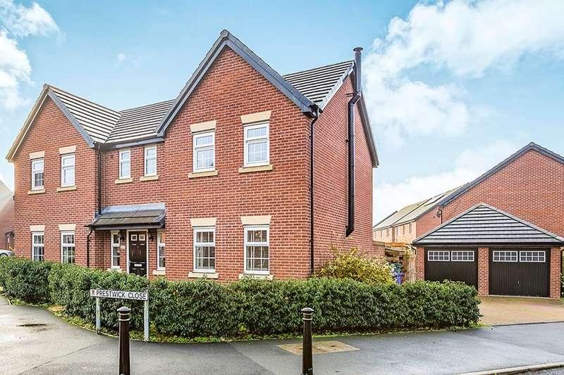 5 Bedrooms Detached House for sale in Prestwick Close, Buckshaw Village, Chorley, PR7