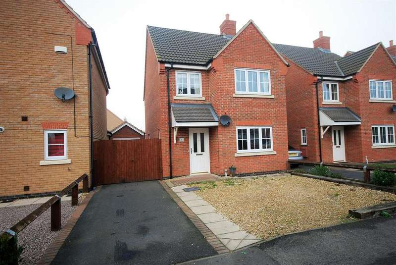 3 Bedrooms Detached House for sale in Mitchell Drive, Spalding