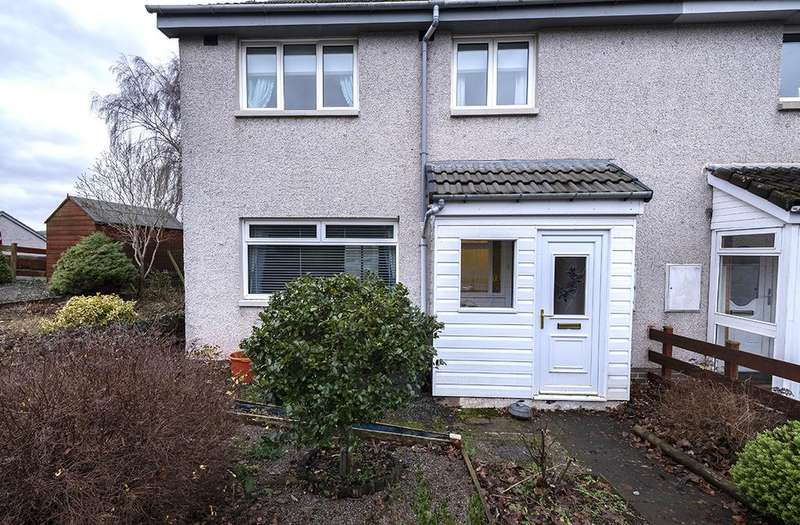 3 Bedrooms Semi Detached House for sale in 13 Gun Place, Earlston TD4 6EL