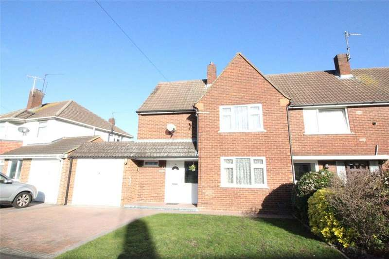 3 Bedrooms Semi Detached House for sale in Haddon Drive, Woodley, Reading, Berkshire, RG5