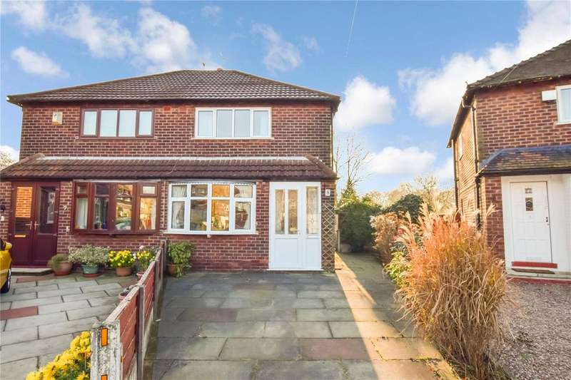 2 Bedrooms Semi Detached House for sale in Ryder Avenue, Altrincham, Cheshire, WA14
