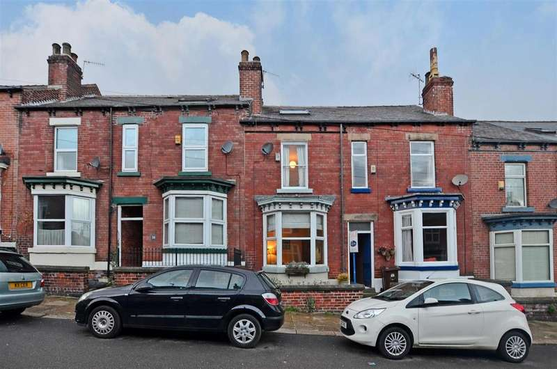 4 Bedrooms Terraced House for sale in Peveril Road, Sheffield