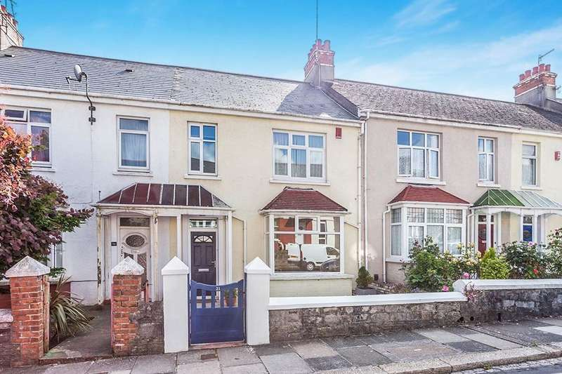 3 Bedrooms Property for sale in Dale Gardens, Mutley, Plymouth, PL4