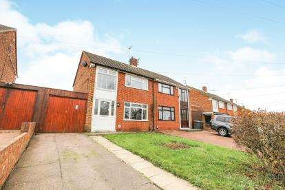 3 Bedrooms Semi Detached House for sale in Fermor Crescent, Luton, Bedfordshire