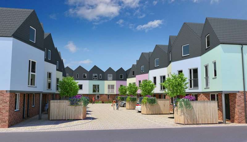 3 Bedrooms Town House for sale in Beckham Place, Norwich