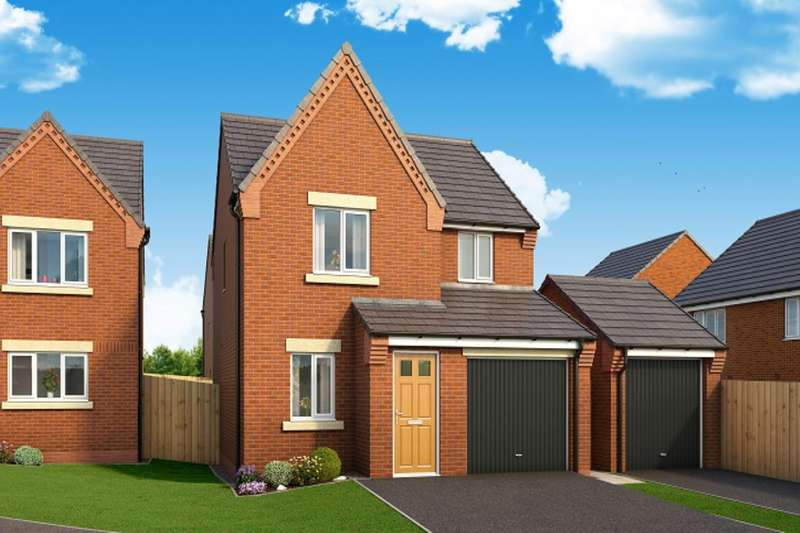 3 Bedrooms Detached House for sale in The Staveley Harwood Lane, Great Harwood, Blackburn, BB6