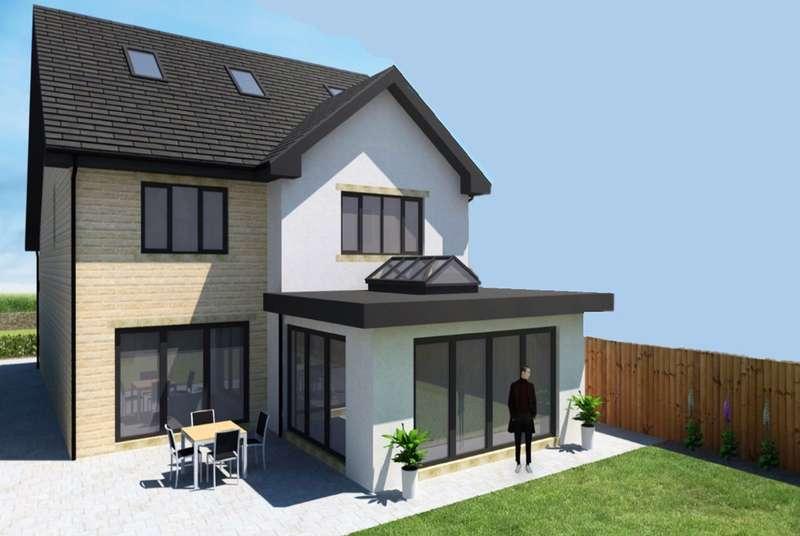 5 Bedrooms Detached House for sale in Slades Road, Bolster Moor, Huddersfield, HD7