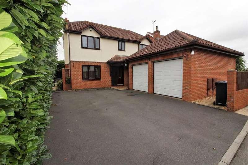 4 Bedrooms Detached House for sale in Sandstone Rise, Winterbourne, Bristol, BS36 1BB