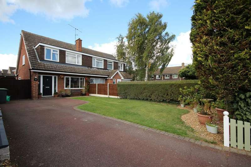 3 Bedrooms Semi Detached House for sale in Bury Road, Shefford, SG17