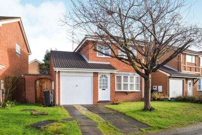 3 Bedrooms Detached House for sale in Grayswood Drive, Anstey Heights, Leicester, Leicestershire