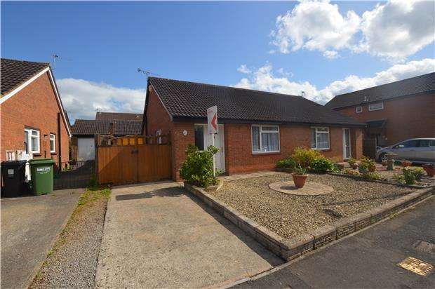 2 Bedrooms Semi Detached Bungalow for sale in Bader Close, Yate, BRISTOL, BS37 5UD