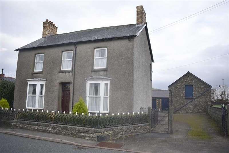 4 Bedrooms Detached House for sale in Station Road, Tregaron