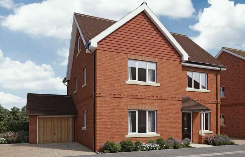 5 Bedrooms Detached House for sale in The Ridings, Sulham Hill, Tilehurst, Reading, RG31