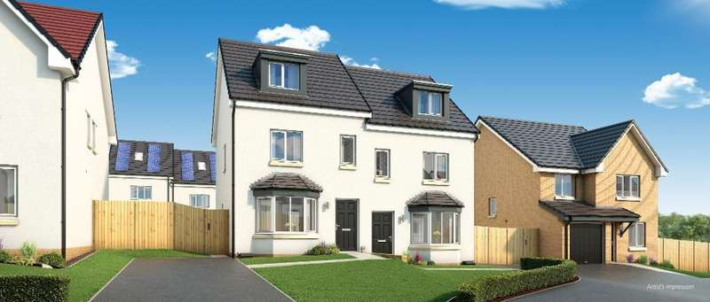 3 Bedrooms Town House for sale in The Roxburgh Early Braes, Hallhill Road, Barlanark, Glasgow, G33 4QJ