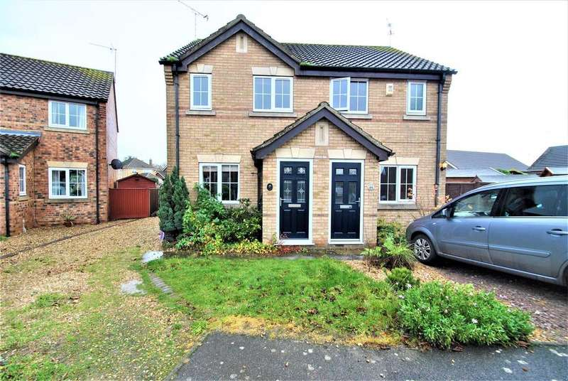 2 Bedrooms Semi Detached House for sale in The Chase, Fishtoft, Boston