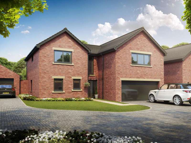 5 Bedrooms Detached House for sale in Woodburn Gardens, Salutation Road, Darlington