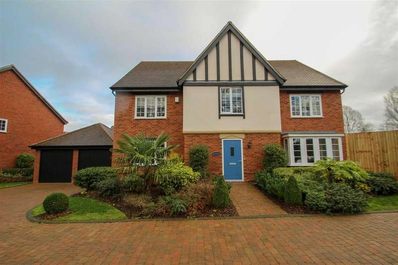 5 Bedrooms Detached House for sale in Waterford Crescent, Barlaston, Stoke-On-Trent