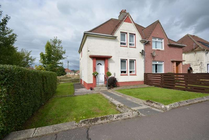 2 Bedrooms Semi Detached House for sale in Milrig Crescent, Galston, KA4