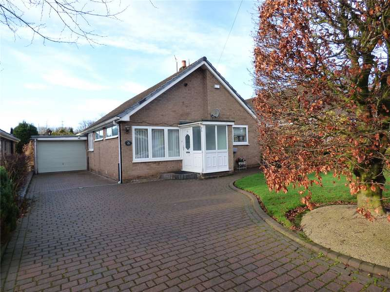 3 Bedrooms Detached Bungalow for sale in Tollemache Road, Mottram, Hyde, Greater Manchester, SK14