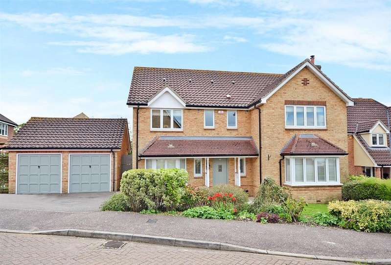 4 Bedrooms Detached House for sale in Roman Close, Mountnessing