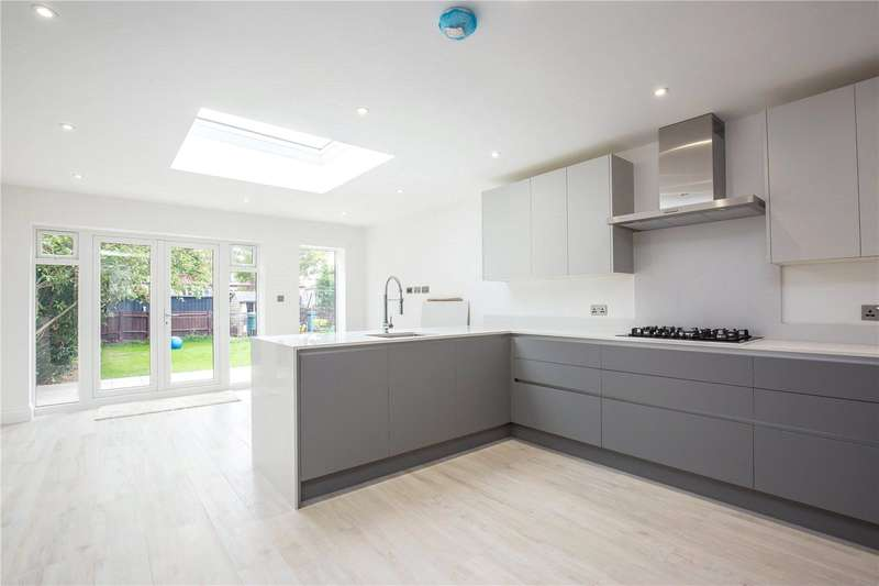 4 Bedrooms Semi Detached House for sale in Hertford Road, East Finchley, London, N2