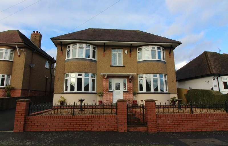 4 Bedrooms Detached House for sale in Highfield Road, Pontllanfraith